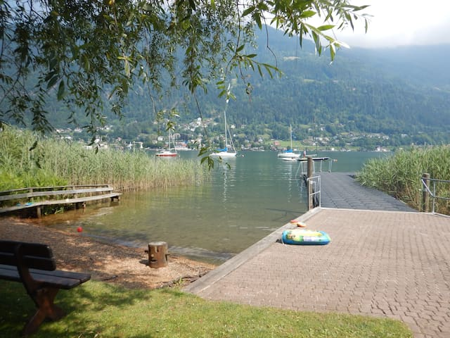 Appartement direkt am Ossiachersee / Gerlitzen - Villach