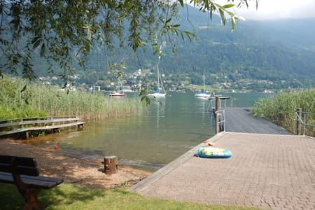 Appartement direkt am Ossiachersee / Gerlitzen - Villach - Appartement