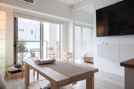 HappyHome, Tokyo Tower & Ginza, Airports direct! - Minato - Wohnung