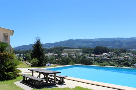 Quinta do Souto - Poolhouse with tennis court