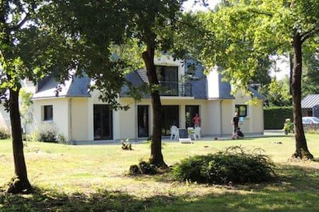 Maison moderne lisière bois - Sarrigné