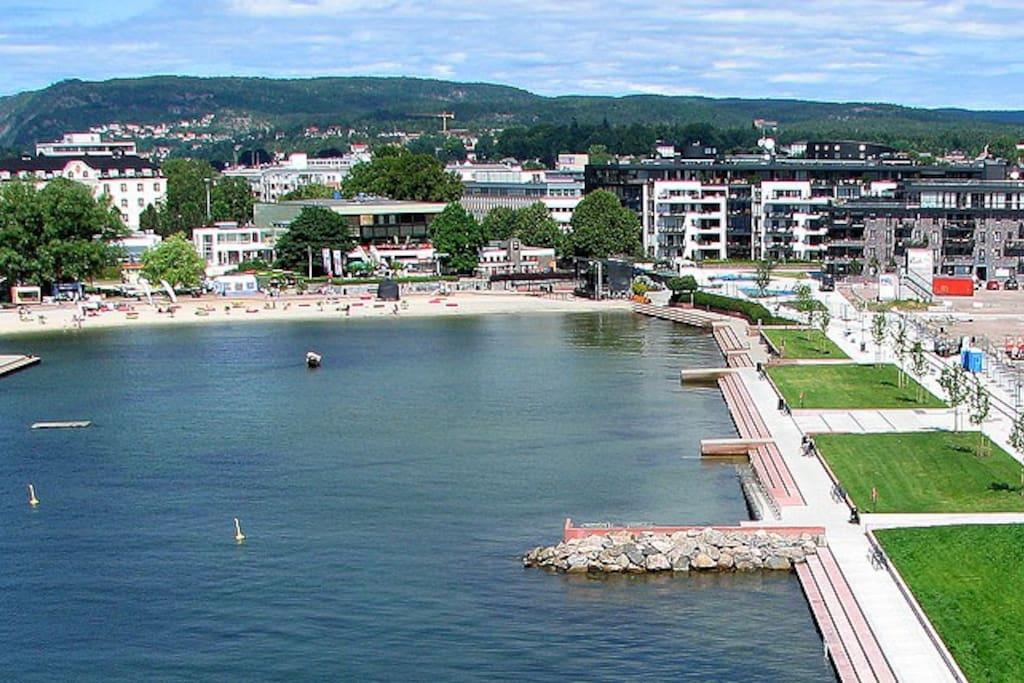 Bystranda i Kristiansand