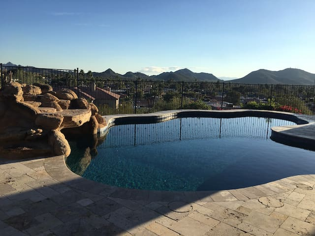Mountain Side Guest Quarters With Stunning Views - Phoenix - Pensione
