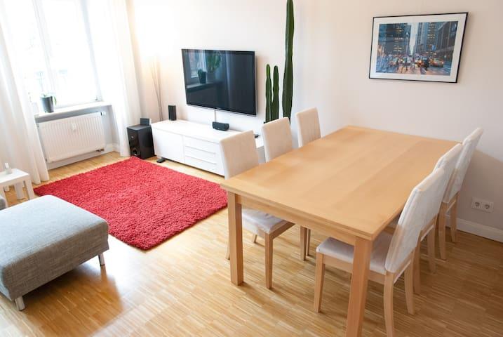 Hochwertige Altbauwohnung mit Südbalkon, Parkett - Dresden - Lägenhet
