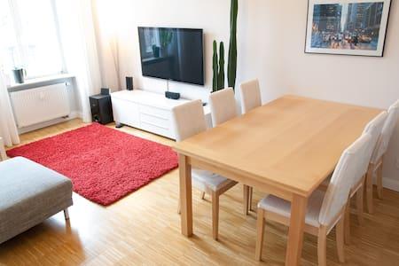 Hochwertige Altbauwohnung mit Südbalkon, Parkett - Dresden