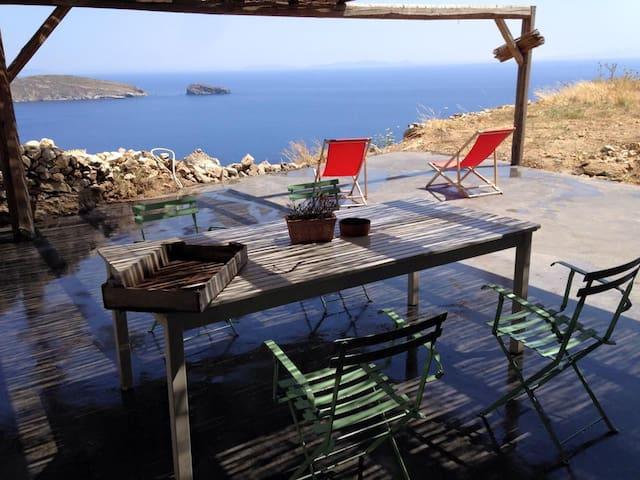 SCORPIO - BREATHTAKING SEA VIEW PARADISE/SERIFIANS - Serifos - วิลล่า