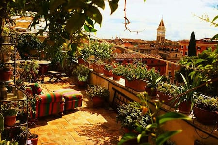 Roofgarden Rome, Termini Station - Rome - Apartment