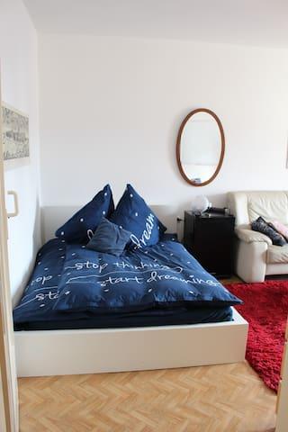 Gemütliches Zimmer, nahe Uni und Kongresszentrum - Mannheim - Apartment