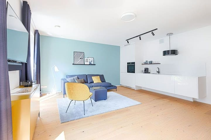 High-quality equipped flat in the heart of Munich