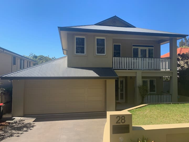 Family home on the stunning Northern Beaches .