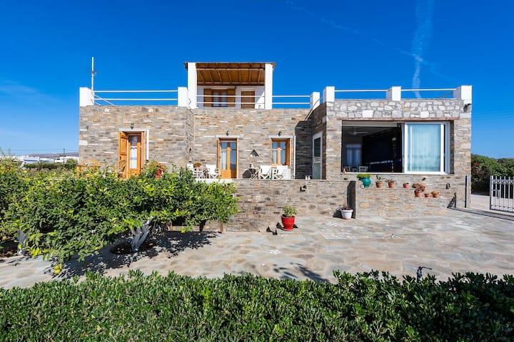 Fotini's House walking distance to the beach!