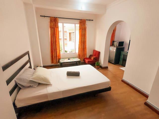 Small studio-apartment