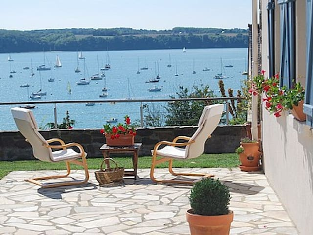 la villa marine  superbe vue  mer - Saint-Suliac - Ház