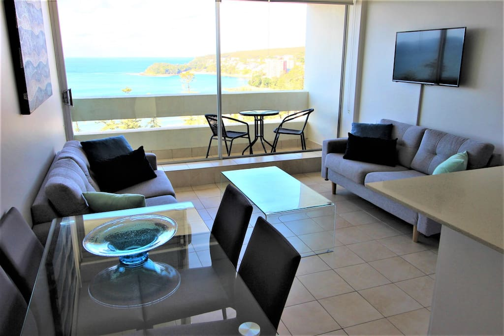 Showing balcony with fantastic views