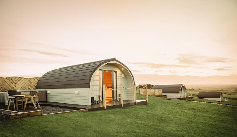 The Burrow @ Braeside Retreats, Thurso