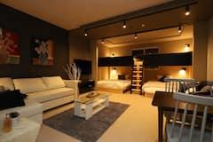 New+Premium+Furniture%21+Beautiful%21+Comfortable+stay+along+Kitajijo-dori+Street%21+Private+One-Floor%21+Contactless+CI%2FMax+7%2FR3