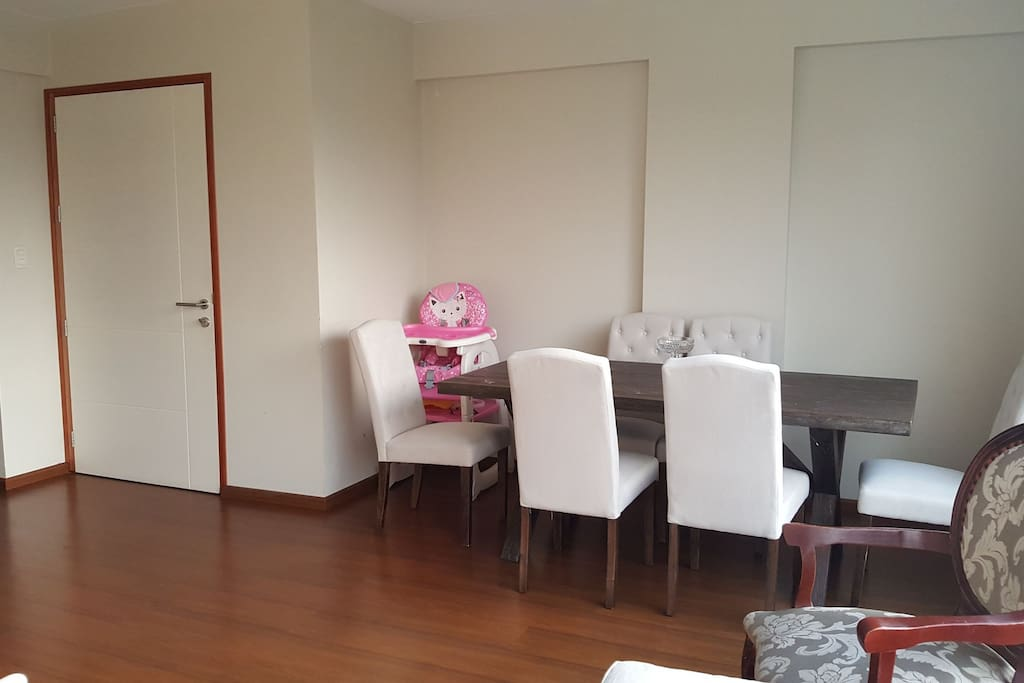 Dinning room, and you can use  baby dining chair.