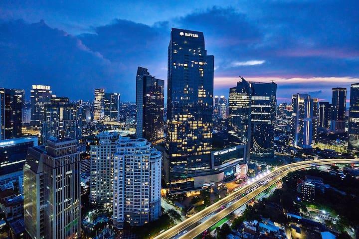 Magnificent view at Mega Kuningan - Jakarta