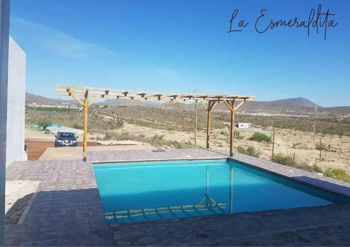 Hacienda La Esmeralda - Cabaña - Casa Campestre