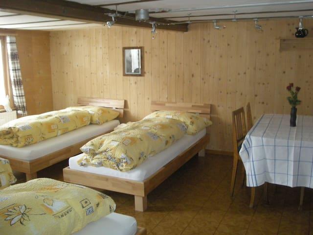 Zimmer Gsür - Frutigen - Talo