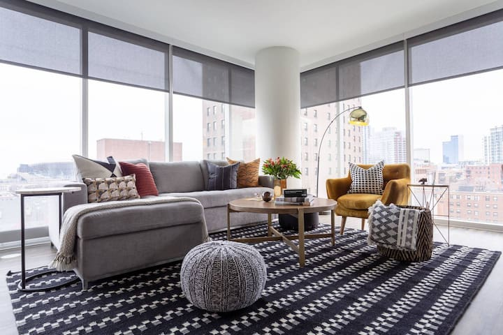 Domio | Field Museum | Stylish 2BR/2BA