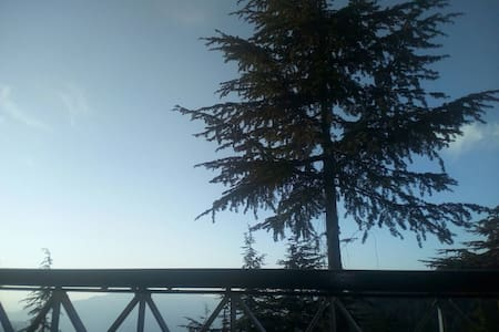 Cozy apartment with a beautiful view - Chail - Hus