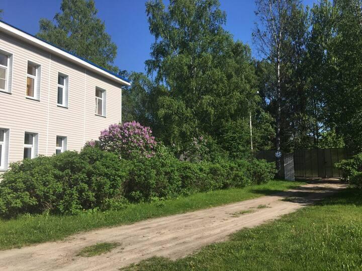 Гостевые аппартаменты рядом с Финским Заливом.