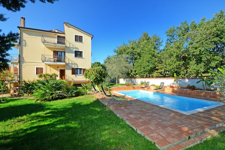 Apartments with pool Albina / Apartment with pool Albina 1P