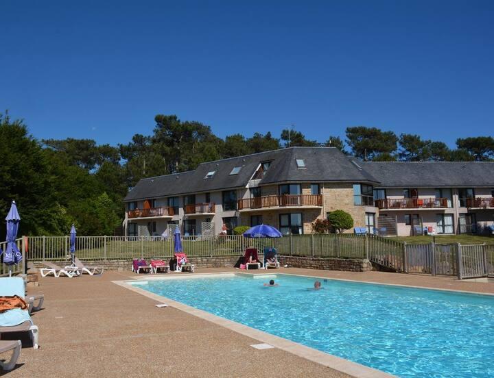 Bénodet  Appartement dans residence avec piscine