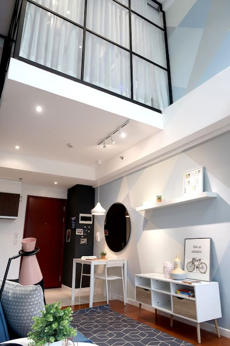 A view of the Loft Space