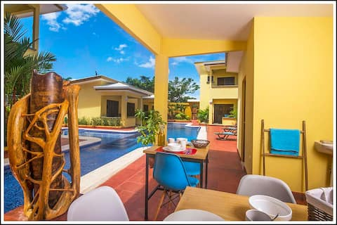 Tamarindo Garden Boutique homes.  Ginger Home 3