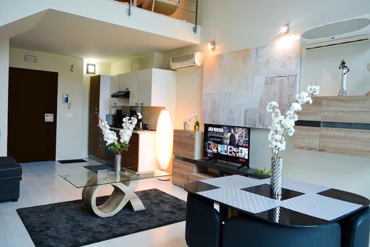 Красивые апартаменты в Мадриде Норте