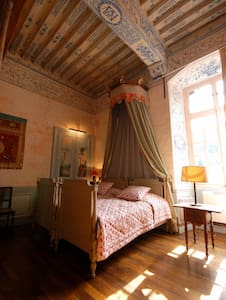 "Chambre ""Bleue"" Château XVIIeme - Ménessaire - Zamek"