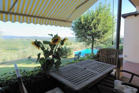 Apartment on winefarm in Chianti - Romola-San Casciano Val di Pesa