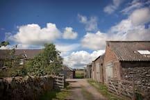 Entrance to the Bonnington Farm and Loft