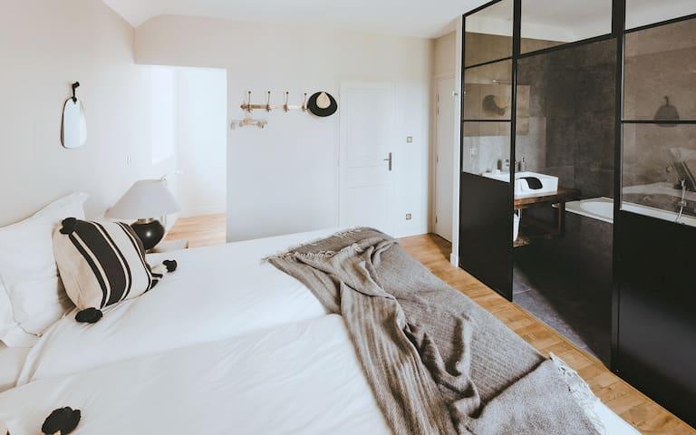 3 chambres modernes | Domaine de Petite Ville