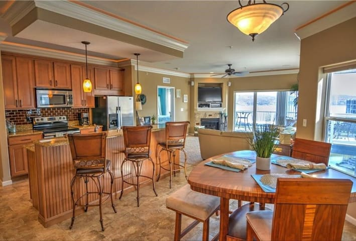 Spacious condo with stunning main channel views!