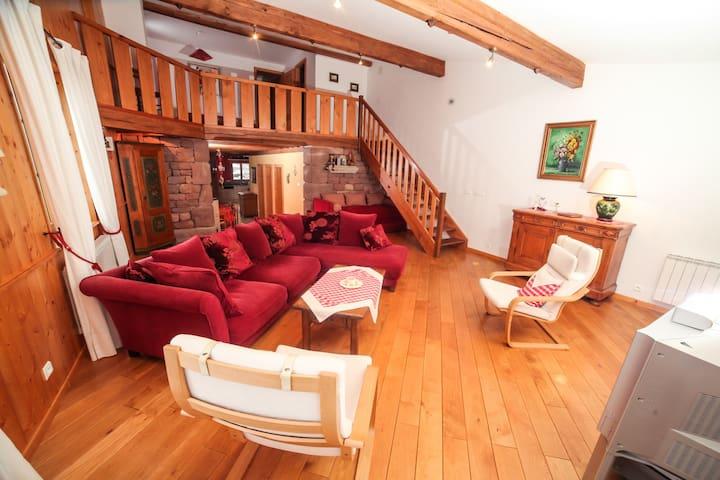 Charmant gîte et chambres Maritelle - Harreberg - Dům