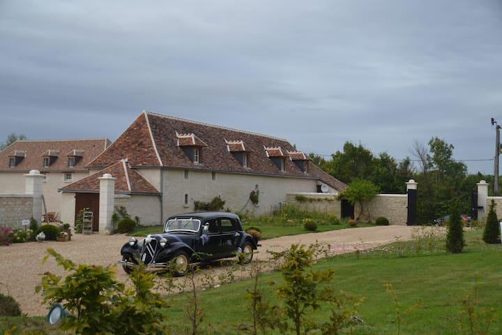Ferme rénové en gite rural. - Yzeures-sur-Creuse - Casa