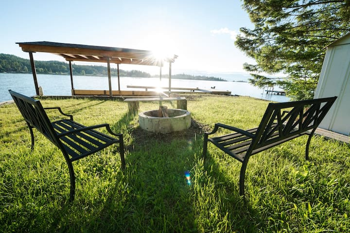 Terraced Treasure, Perfect Location for your Family Vacation on Flathead Lake