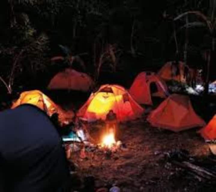 pernotto in tenda