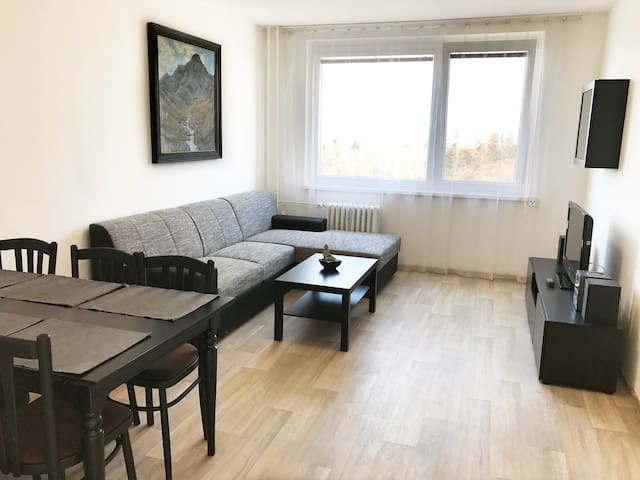 New apartment - great location, quiet neighborhood - Prag - Wohnung