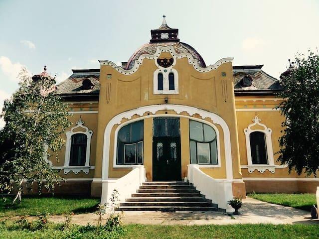 Szecessziós Nagy- kastély - Nyársapát - Slott