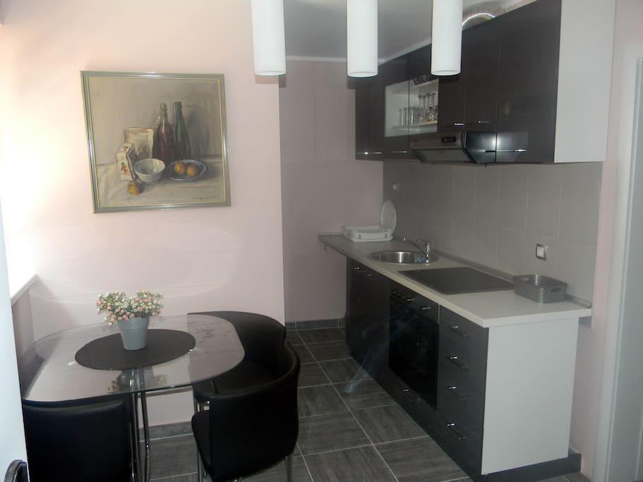 Full operational kitchen