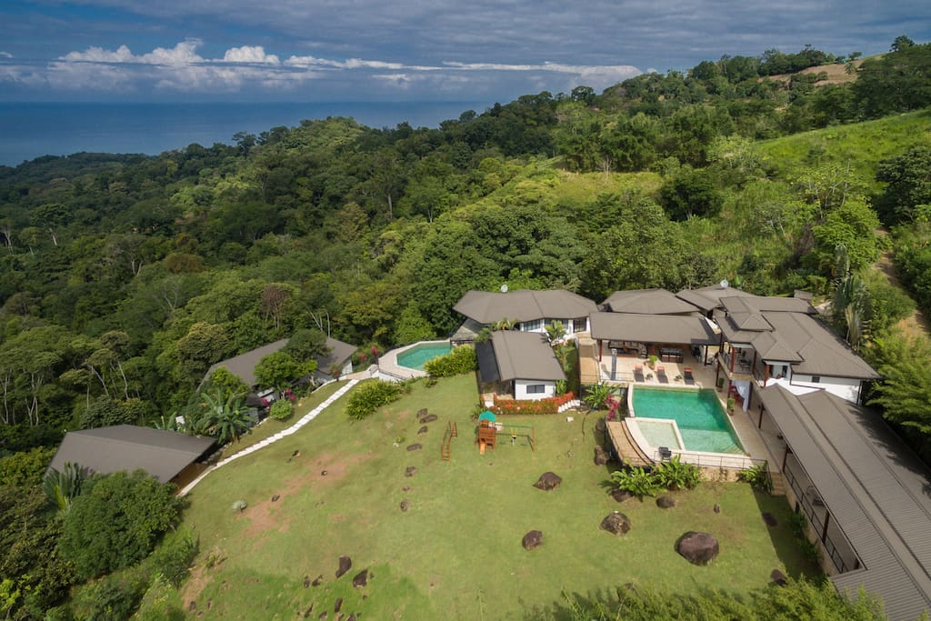 Property view - Jungle and ocean vistas