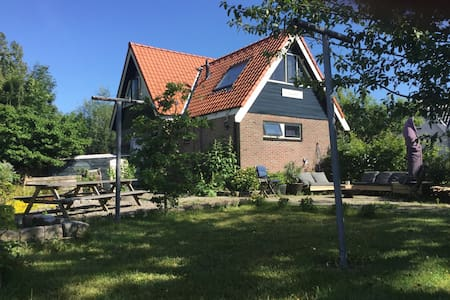 Family house; large garden and beach - Schagen - Talo