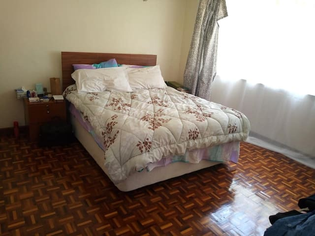 A fully furnished 2 bed apartment in Westlands.