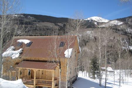SW Colorado serenity, Mts. & river - Rico - Bed & Breakfast