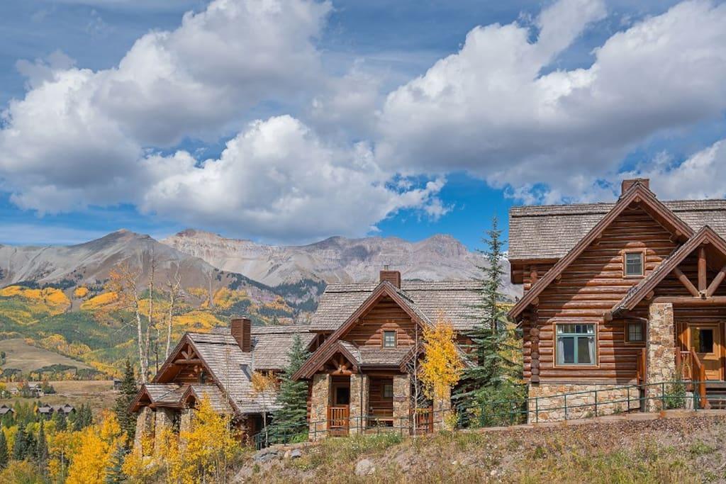 Smuggler cabin mountain lodge in mountain village 4 for App ski mountain cabin rentals