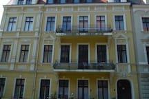 cosy flat; Gründerzeitwohnung mit Balkon